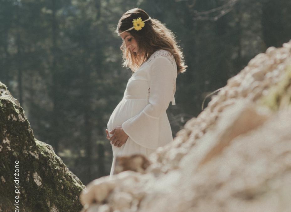Fotografiranje nosečnice