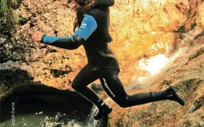 Kanjoning in Hydrospeed