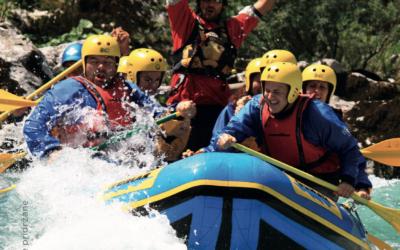Kanjoning in rafting