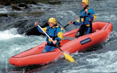 Rafting in kanu