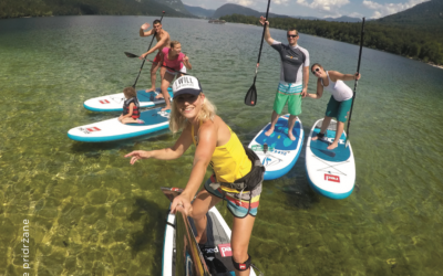 SUPanje na Bohinjskem Jezeru