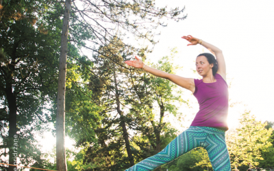 Slackline joga