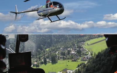 Slikanje s helikopterja